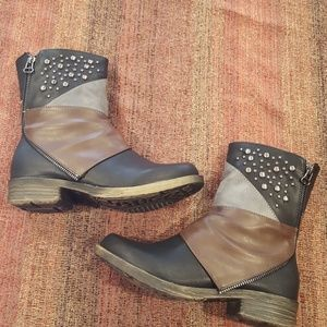 French Blu boots. New in box